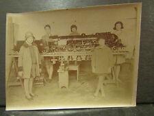 ancienne photo 1931 PLM exposition coloniale paris maquette train 241 C1