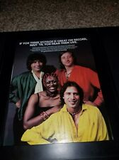 Voyage Fly Away Rare Original Promo Poster Ad Framed!