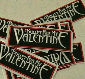 LOT OF 10 BULLET FOR MY VALENTINE CLOTH PATCH