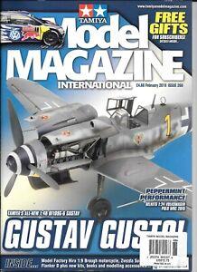 Tamiya Model Magazine Issue 268, FEB 2018 VF- vf tamiya Bf-109G6 1/48 ART. A