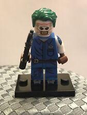 DC Custom Villain The Joker Death Of The Family  Minifigure ARRIVES IN 2-4 DAYS