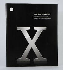 Mac OS X Panther user guide