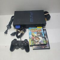 Sony SCPH-39001 PlayStation 2 PS2 Fat Game Console w/ controller & 2 games