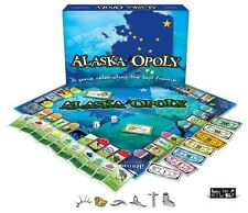 Alaska-Opoly (AlaskaOpoly) An Alaska Themed Monopoly Game NEW and SEALED