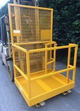 Forklift Safety Access Platform Man Cage Basket - Side Gate £530 + VAT