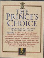 Prince's Choice Personal Selection Shakespeare 4 Cassette Audio Cast Performance