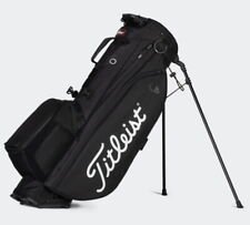Titleist 2021 Players 4 Plus Stand Bag TB21SX1K Men Golf 4Way 4.4lb Charcoal/Blk