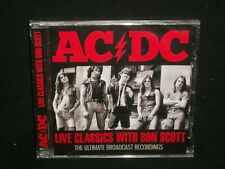 AC/DC - Live Classics With Bon Scott CD SEALED broadcast performances
