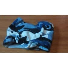 MALE DOG DIAPER PAD HOLDER BLUE CAMO SMALL TOY BREED