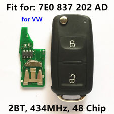Remote Key for VW/VOLKSWAGEN 7E0837202AD 5FA010185-02 AMAROK TRANSPORTER 434MHz