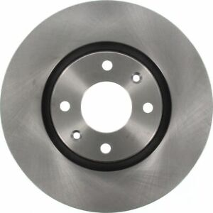 TRW Brake Rotor Front DF4183S fits Peugeot 207 SW 1.6 16V (88kw), 1.6 HDi (66...