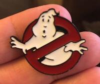 Ghostbusters Logo enamel pin retro 80s movie film comedy hat lapel bag murray