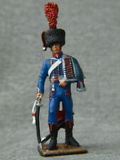 Horse artillery officer Napoleon army Souvenir painting tin soldier SCALE 1/32