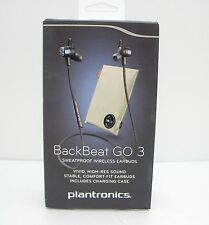Plantronics BackBeat GO 3 Bluetooth Wireless Headset with Charge Case Cobalt BLK