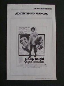 PIPE DREAMS press book GLADYS KNIGHT 1976