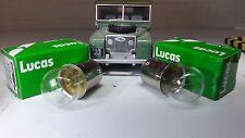 Land Rover Série 1 80 OEM Gen Lucas Panneau Outil filament ampoules BA15s