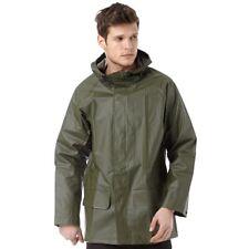 BNWT Helly Hansen Mandal Work Coat Rain Jacket Waterproof Green Medium Fishing M