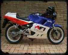 Aprilia Af1 125 Sintesi 89 A4 Metal Sign Motorbike Vintage Aged