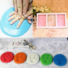 Suave Arcilla Impresión De Huella Mano Y Pie Bebé Niños Estampados color al azar