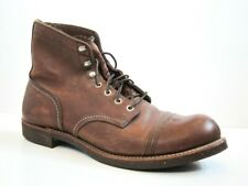 EXCELLENT Red Wing Heritage Iron Ranger Amber 8111 Leather Boots 11D 11 D