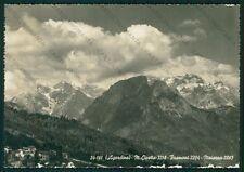 Belluno Agordo Monte Civetta Framont Moiazza ABRASA Foto FG cartolina VK2649