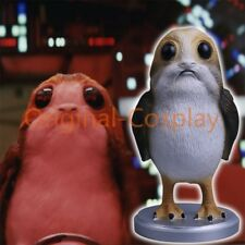 Star Wars The Last Jedi Porg Action Figure Cosplay Porg Resin Toy Collection New