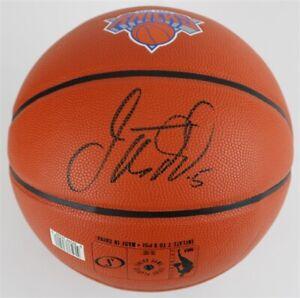 Jason Kidd Signed Spalding NBA Game Ball Series New York Knicks Logo Basketball