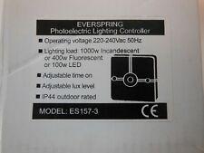 Everspring Photocell Sensor in Black - ES157-3