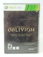 The Elder Scrolls IV: Oblivion Game of the Year Edition Microsoft Xbox 360 Game