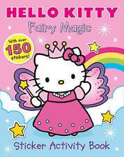 Fairy Magic Sticker Book (Hello Kitty)over 150 stickers free p/p