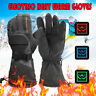 Electric Battery Heated Heating Winter Gloves Warm Touchscreen  Waterproof