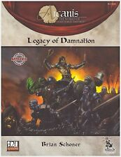 Arcanis: Legacy of Damnation: d20 Rpg Dungeon & Dragons D&D Fantasy Sourcebook