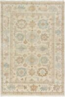 "Hand-knotted Carpet 5'9"" x 8'8"" Royal Ushak Traditional Wool Rug"