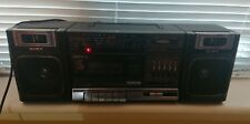 Sony Vintage Ghettoblaster Boombox Radio Tape Player CFS-1000L