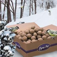 200 x 90 g Meisenknödel ohne Netz Vögel Wildvögel Futter Fettfutter Lyra Pet®
