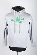 VCG Vintage Trefoil Weed Hoodie | Womens S | Hooded Sweatshirt Retro Adihash 420