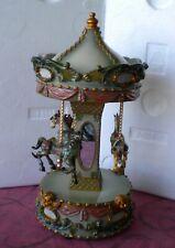 Carrousel Musical mécanique, manège chevaux