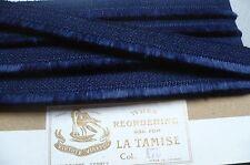 Vintage Pure Wool French Fringe/Brush Trim. 1 Metre. Royal Blue