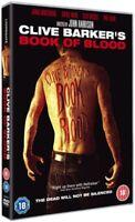 Nuevo Clive Barkers - Libro De Sangre DVD