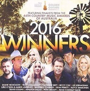 CMAA 2016 WUNNERS-AUSTRALIAN COUNTRY MUSIC AWARDS-2 CD SET-BECCY COLE-L.KERNAGAN