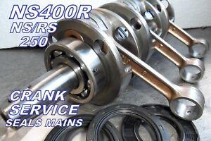 Honda NS 400r Crankshaft ( service ) yr3 250 350 WARTBURG  nsr400  NSR250 crank