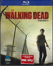 5 Blu-ray Box Cofanetto «THE WALKING DEAD ♦ STAGIONE  QUATTRO 04» nuovo 2014