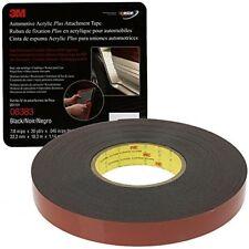 3M 06383 Scotch Acrylic Foam Tape 7/8 Inch x 20 Yards Boxed Black
