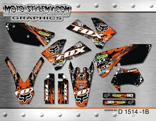 KTM EXC 125 250 450 525  2005 up to 2007 sticker kit graphics Moto-StyleMX