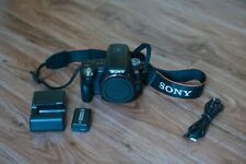 Sony Alpha SLT-A55 16.2MP Digital SLR Camera - Black (Body Only) (SLTA55V)