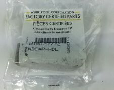 W10127772 Whirlpool Handle Endcap Silver Factory Genuine Oem Free Ship Hb