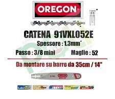 CATENA OREGON 91VXL052E PASSO 3/8LP SPESSORE 1,3mm MAGLIE 52 PROFESSIONALE