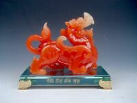 Gorgeous Chinese Feng-Shui Dragon Offspring Monster PiXiu Sculpture Blessing CHI