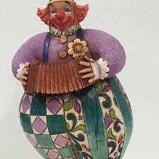 Jim Shore Heartwood 4007673 Squeezebox Circus Clown Resin Figurine
