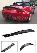 For 16-Up Mazda MX5 Miata Leg Sport Spoiler Duck Tail Style Rear Trunk Lip ND